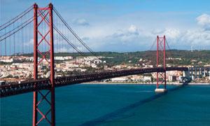 Ponte 25 de April, Lissabon